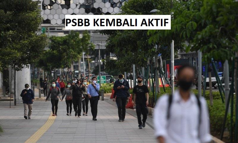 PSBB Kembali Aktif, Kantor-Kantor Masih Tetap Beroprasi